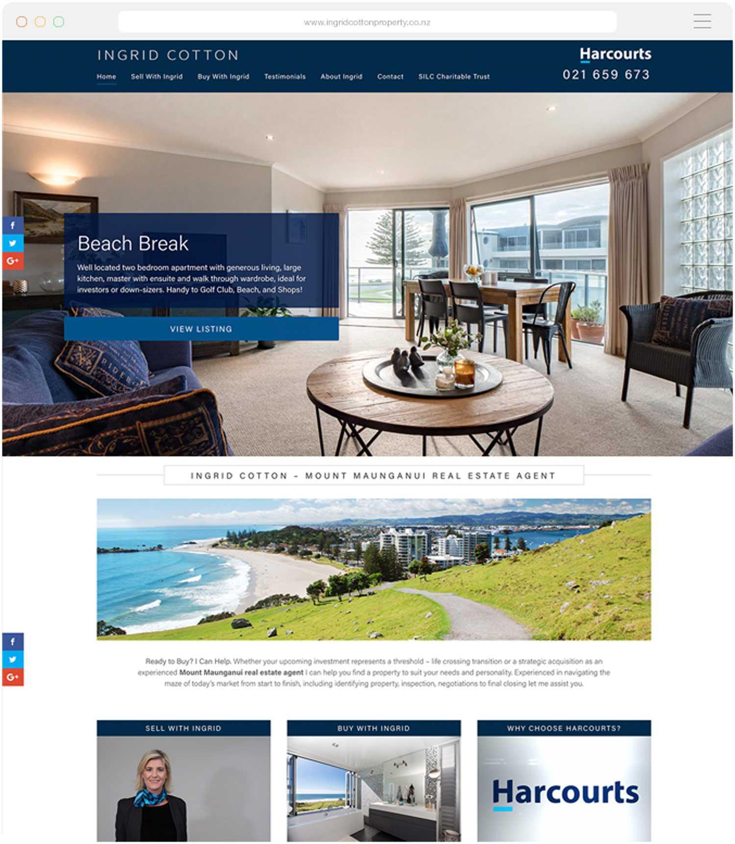 Real Estate Web Design Tauranga