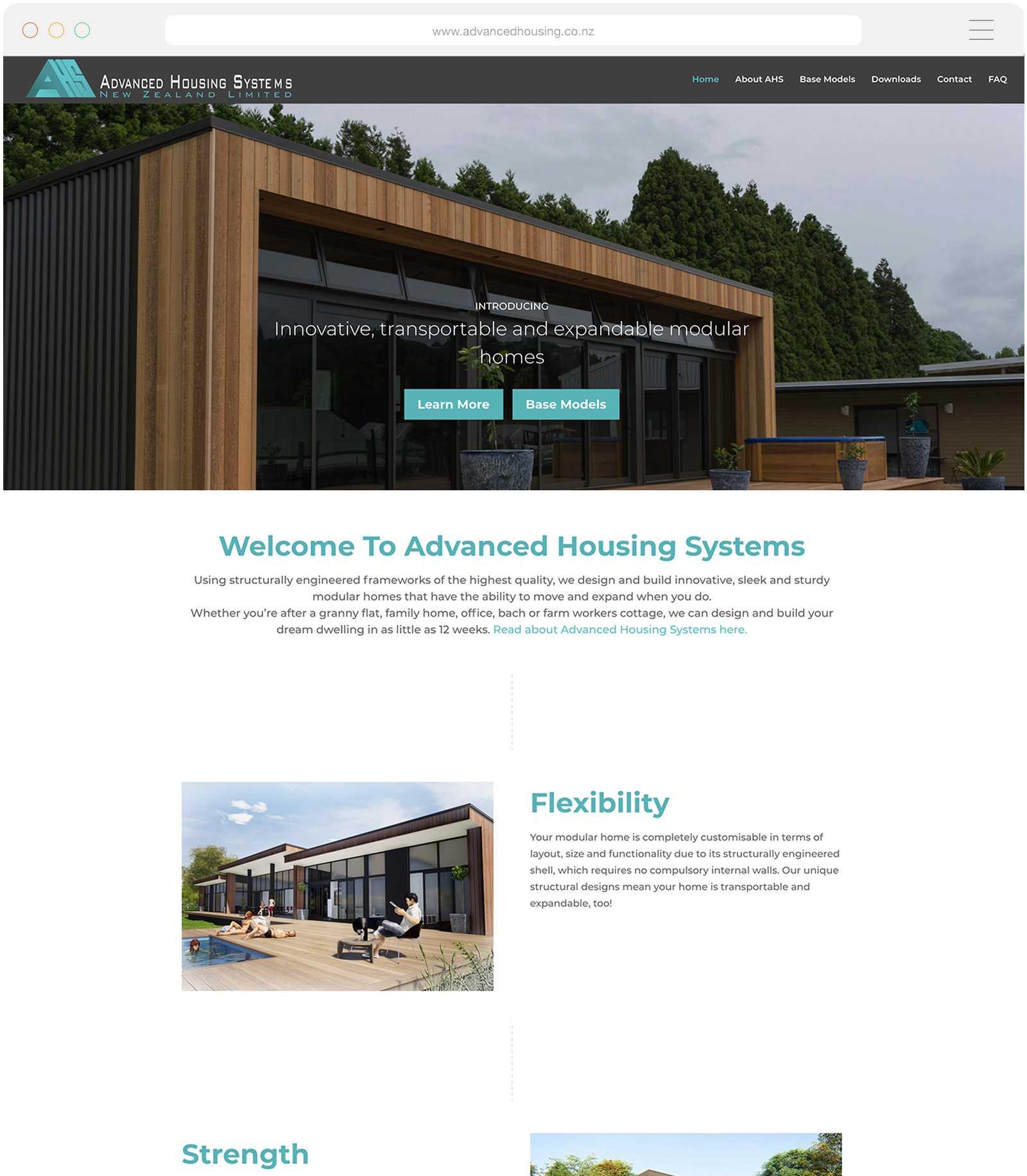Wordpress Website for AHS